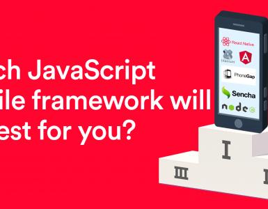 JavaScript mobile framework