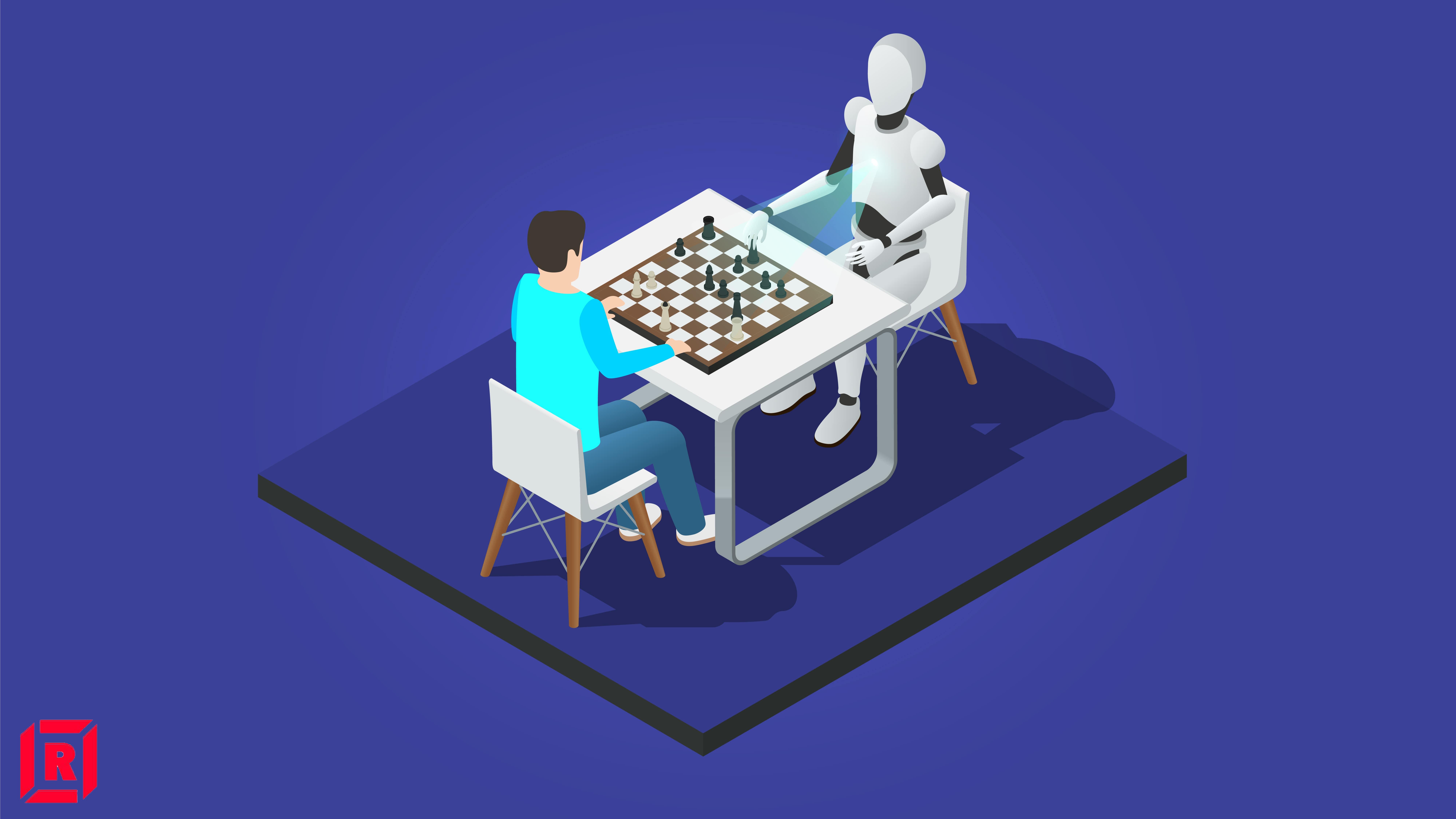 Computer beating human at chess