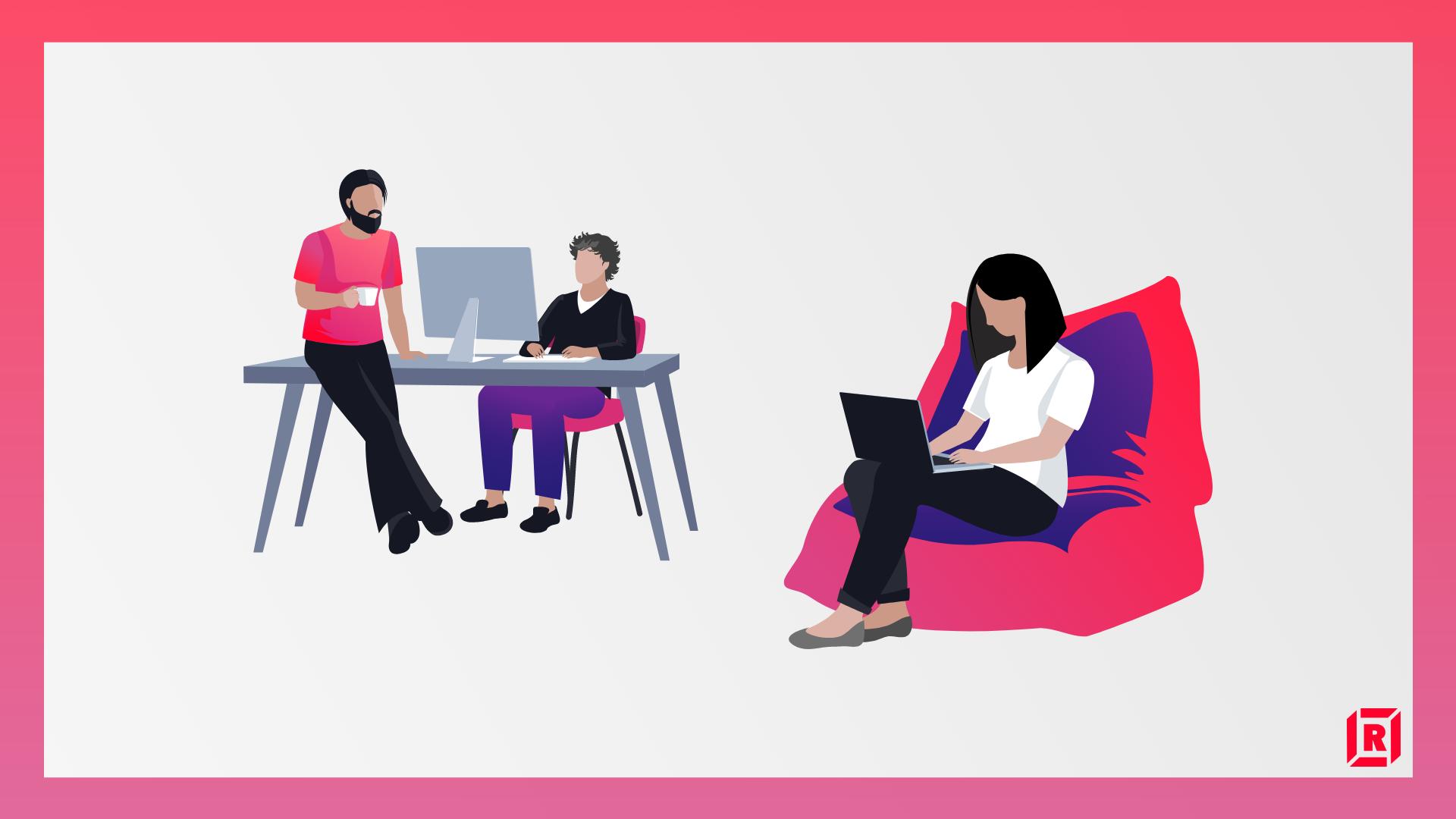Employee benefits: remote work